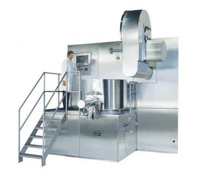 PPS a/s powder mixing equipment from Diosna - single pot processor production scale