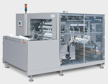 PPS a/s linear washing machine for vials and bottles from Romaco Macofar