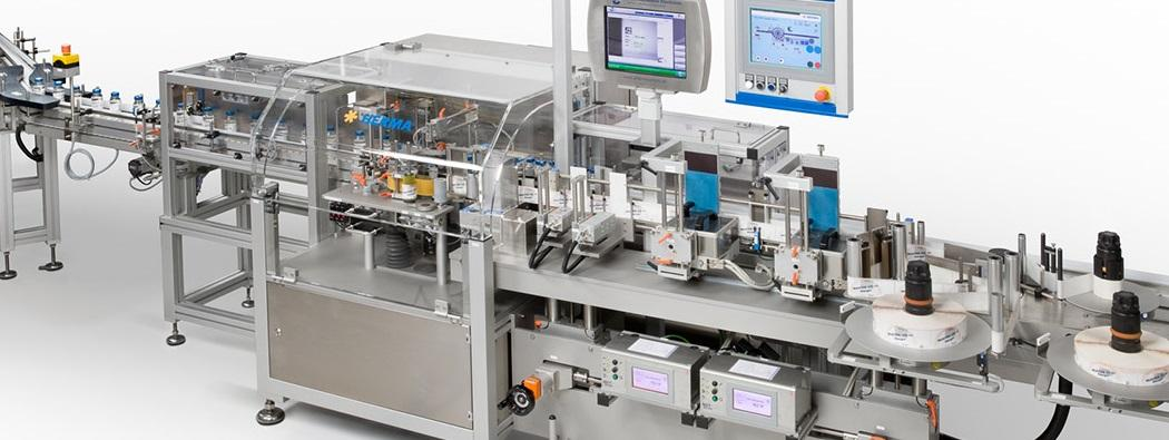 PPS a/s labeling machine from Herma