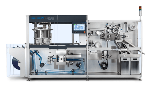 PPS A/S blister packaging solutions from Romaco Noack - continuous motion
