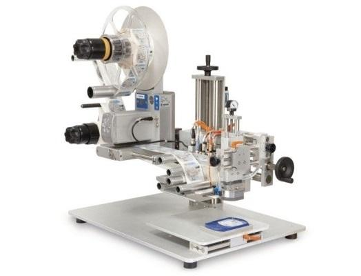 PPS A/S labeling equipment from Herma - tabletop labeling system