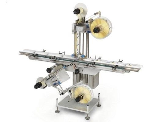 PPS A/S labeling equipment from Herma - top and bottom labeling machine