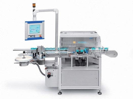 PPS A/S labeling equipment from Herma - wrap-around labeling machine