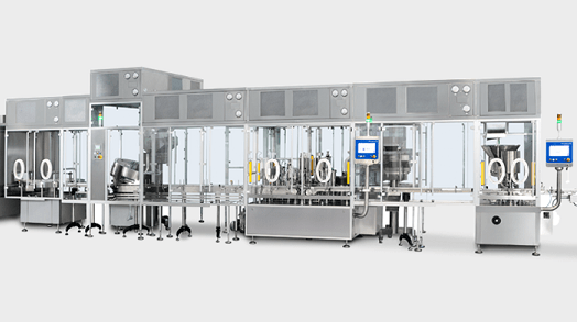 PPS a/s aseptic liquid filling solutions from Romaco Macofar