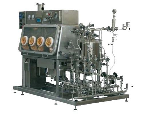 PPS A/S liquid process equipment from Tecninox - cytotoxic anticancer