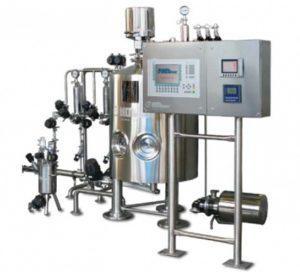 PPS A/S liquid process equipment from Tecninox - parenteral formulation compounding application
