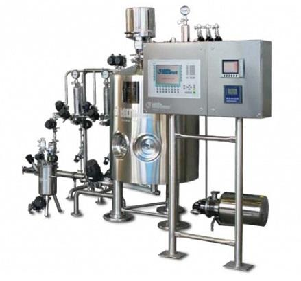 PPS a/s liquid process equipment from Tecninox - parenteral formulation compounding application