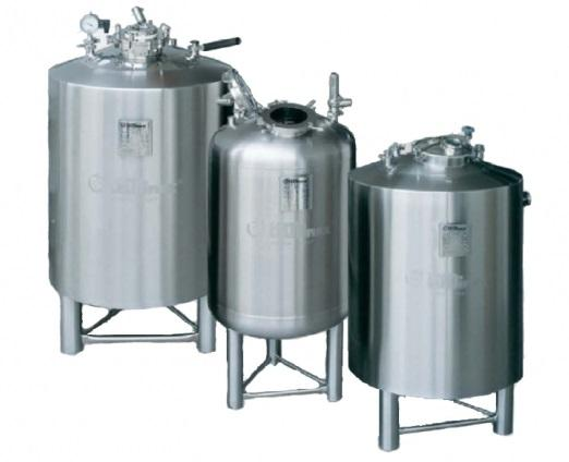 PPS A/S liquid process equipment from Tecninox - process and storage tanks