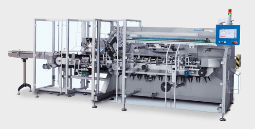 PPS a/s packing and end-of-line equipment from Romaco Promatic - continuous motion cartoner