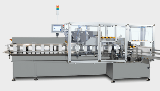 PPS a/s packing and end-of-line equipment from Romaco Promatic - vertical cartoner