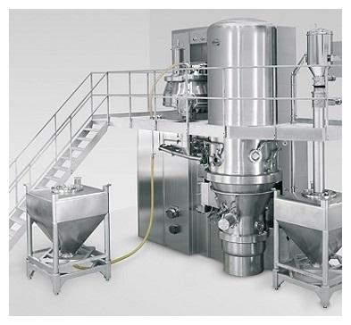 PPS A/S powder mixing equipment from Diosna - granulator