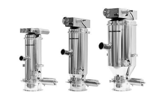 PPS A/S storing equipment from Müller, Volkmann and Schneider - dust-free handling, big bag handling, vacuum transport