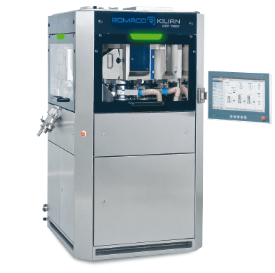 PPS a/s tablet press equipment from Romaco Kilian - production press