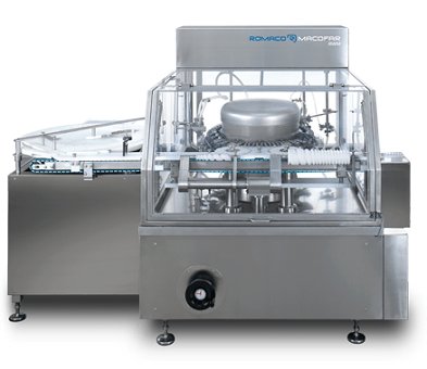 PPS A/S rotary washing machine for vials and bottles from Romaco Macofar